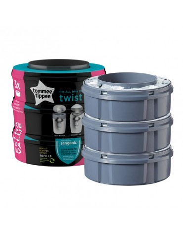 Pack 3 Recambios Sangenic Tommee Tippee