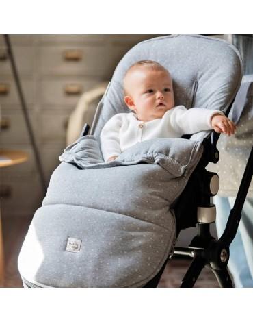 Saco Silla Dreamer Punto Gris de Walking Mum