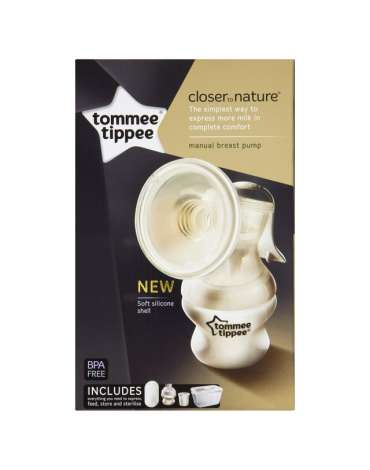 Sacaleches Manual de Tommee Tippee