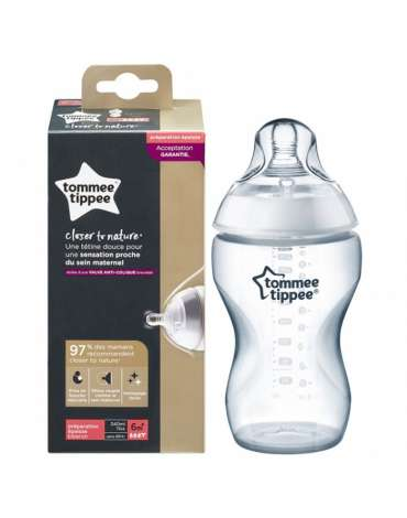 BIberón 6M+ Close to Nature de Tomme Tippee