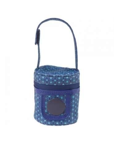 Portachupetes Kimono Azul de Tuc Tuc
