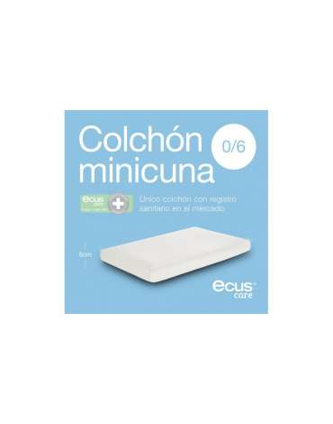 Colchón para minicuna Ecus Care