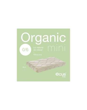 Colchon para minicuna Organic Ecus Kids
