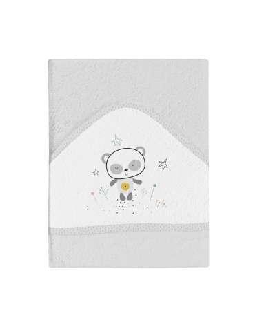 Capa de Baño Panda Gris de BimbiDreams