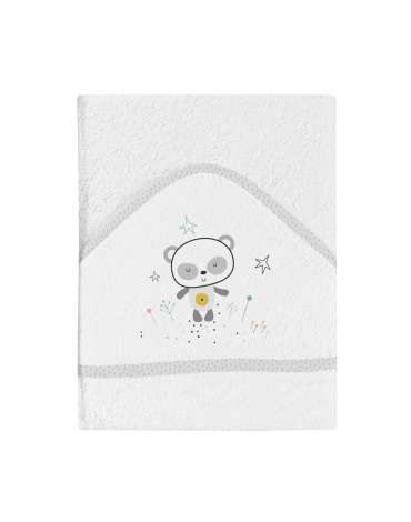 Capa de Baño Panda Blanco de BimbiDreams