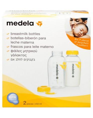 Botella biberon 250 pack 2 uds Medela