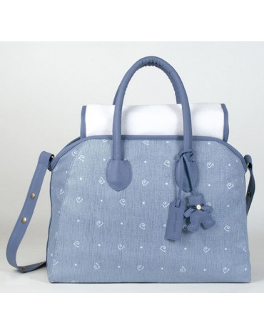 Bolsa Canastilla Ginger Azul Pasito a Pasito