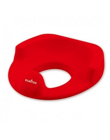 Asiento reductor WC Confort Rojo Olmitos