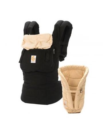 Portabebe Original con reductor Black Camel Ergobaby