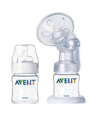 Sacaleches manual Avent BPA FREE