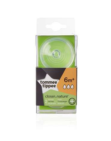 Pack 2 unidades Tetina Anticólico Closer to Nature® Tommee Tippee
