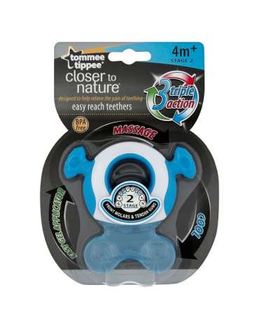 Mordedor Gummy Fase 2 Closer to Nature® Tommee Tippee