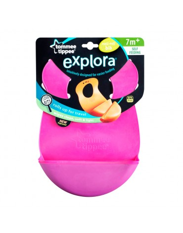 Babero enrollable Roll n Go Explora Tommee Tippee