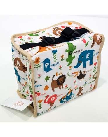 Bolsa isotérmica Animals Cream My Bags