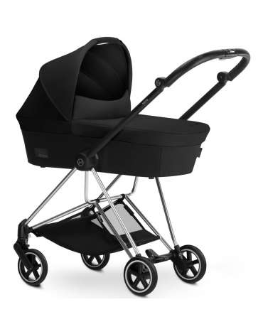 Duo Mios de Cybex Stardust Black C/Reductor Manhattan Grey
