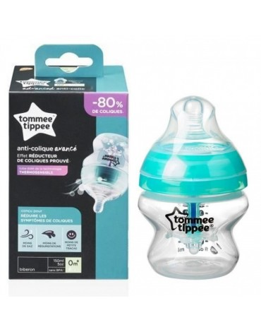 Biberón Anticólico 0m+ Closer to Nature® Tommee Tippee