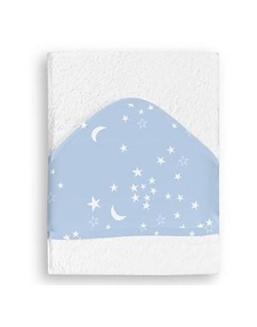 Maxicapa Estrellas Azul de Pirulos