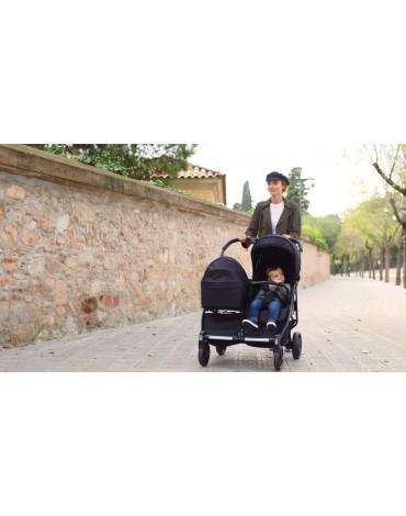 Silla Gemelar Baby Twin Irongate + 2 Capazos